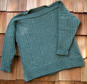 Knitting Pattern Guernsey Sweater : BareNeedle