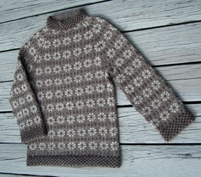 Faroese Jumper Knitting Patterns : BareNeedle